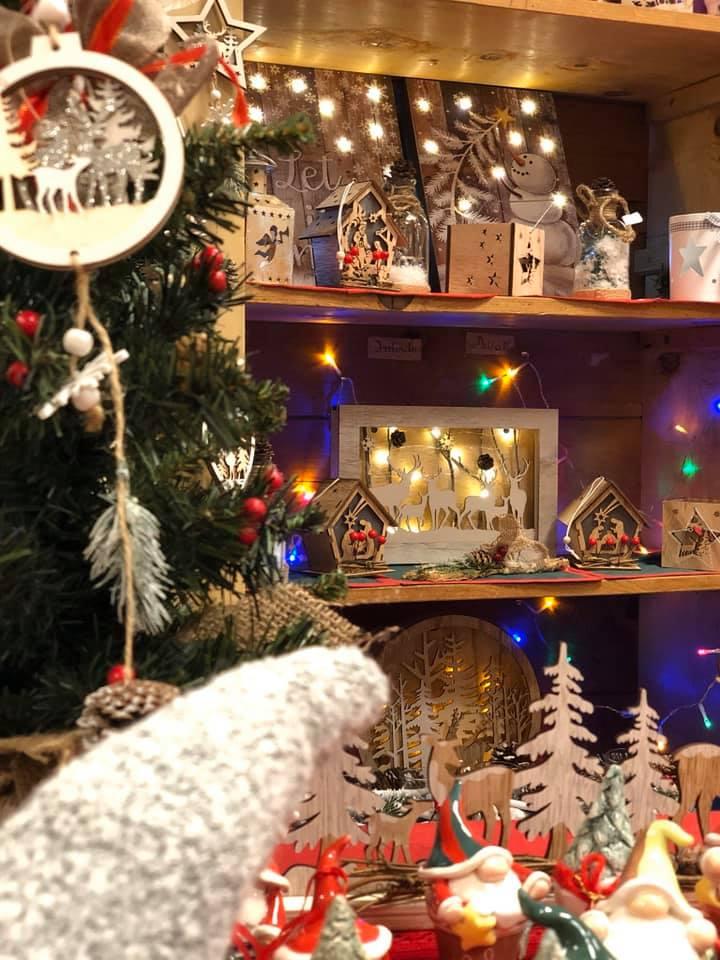Bancarella di Natale