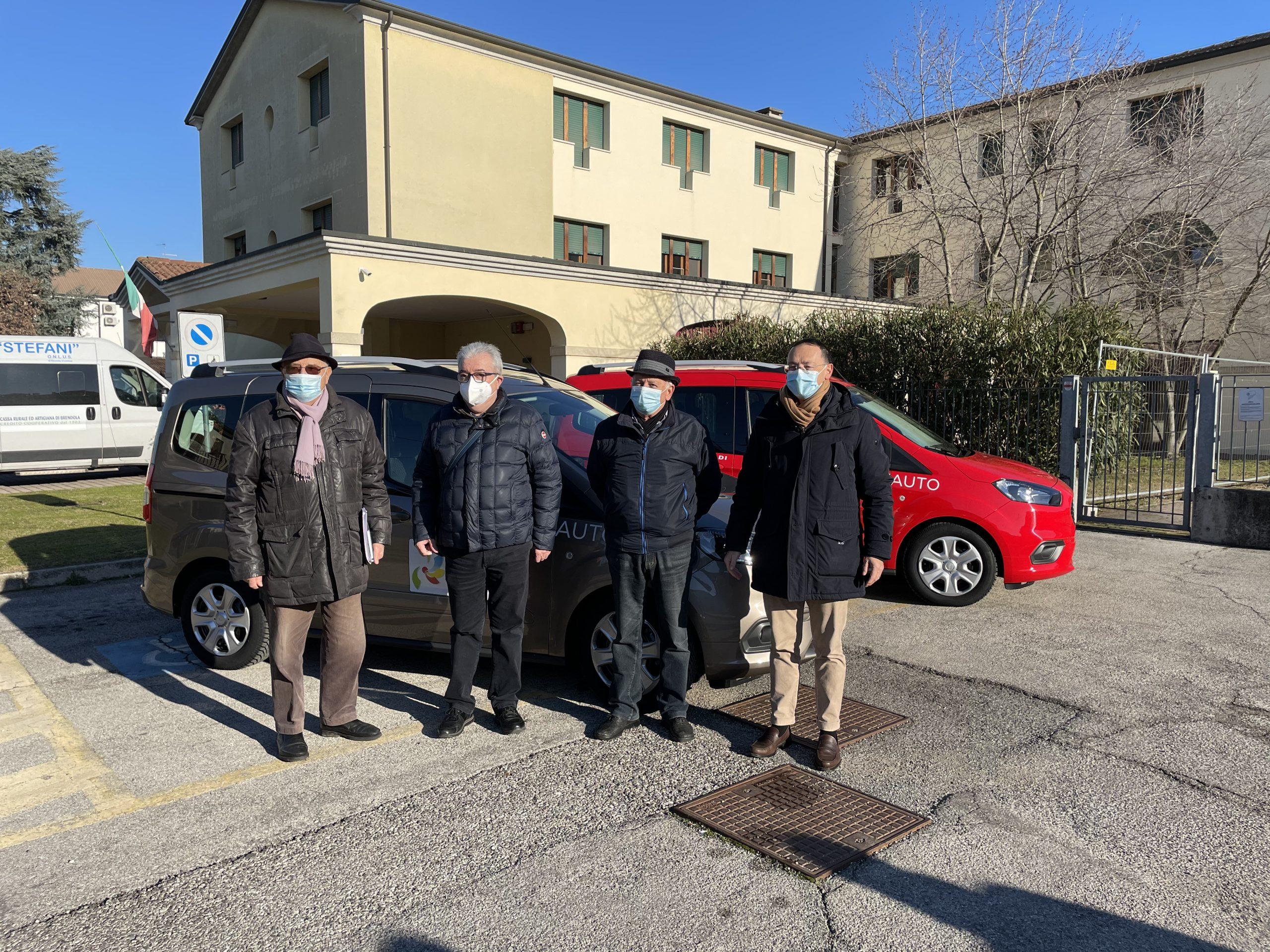 Nuove auto in arrivo alla Fondazione Stefani onlus